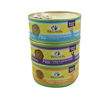 New Wellness Natural Wet Cat Food Poultry Pleasure Sea Variety Pack Case of 30