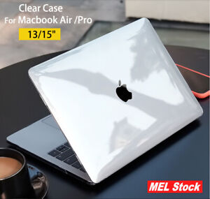 Glossy Crytsal Clear Case for Macbook Air Pro 13 15 A2337 A2338 A2251 M1 CHIP