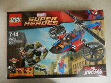 BNIB Lego 76016 Super Heroes Spiderman Helicopter Rescue Green Goblin