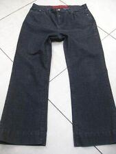 M&S PER UNA ROMA black ankle skimmer JEANS size UK 16 stretch short cropped