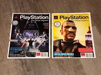 PlayStation Magazine Issue 005 & 007 Guide Strategy 2 Books Star Wars GTA IV