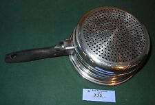 Ekco Prudential Ware Cookware Steamer Insert Pan Stainless 304 Tri-Clad Titanium