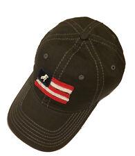 Mack Trucks Bulldog Charcoal Gray USA Flag Cap/Hat