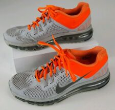 brand new d5732 d5f5f Mens Nike Air Max + 2013 Grey Orange Running Shoes 554886-009 Size 8.5 a7