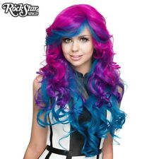Rockstar Wigs Triflect Ink Royale - Blue Purple Magenta - Long Wig