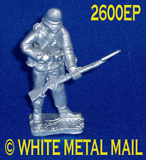 Military Lead Casting LA2600EP 24th Foot Enlisted Man Standing Reloading