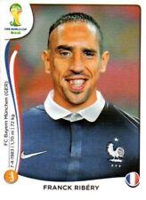 Panini Sticker Fußball WM 2014 Nr. 389 Franck Ribery