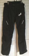 HWK Motorcycle Protective Pants Black Cordura Waterproof - Men's Size XXL 32