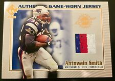 2002 Private Stock #79 Antowain Smith 3 Color Patch Patriots