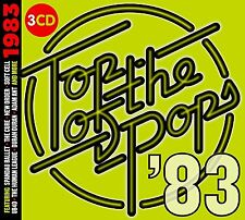 TOP OF THE POPS 1983 3 CD SET - PRE RELEASE 7TH JULY 2017