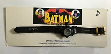 VINTAGE 1966 BATMAN DIRECTIONAL FINDER WRIST COMPASS! MINT ON ORIGINAL CARD!