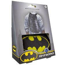 DC Comics Batman Pop up Backpack Casual Daypack 45 Cm 20 L Black