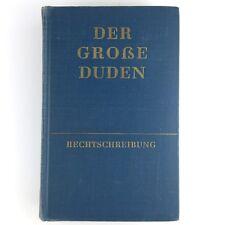 Der große Duden - Wörterbuch u. Leitfaden - 15. Auflage von 1959