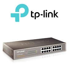 TP-LINK - 16 Port Rack Mount Ethernet Network Switch 10/100Mbps - TL-SF1016DS