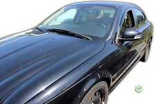 JAGUAR X-TYPE SALOON 2001-2008 SET OF FRONT WIND DEFLECTORS 2pc HEKO TINTED