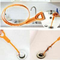 Useful Bathroom Drain Chain Hair Stopper Sink Strainer Remover Shower Catcher