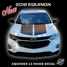 Chevrolet Equinox LS HOOD Decal Stripes Pre Cut Fits 2018 Models |5