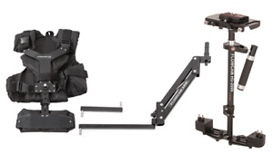 Flowcam HD 2000 Camera Steadycam + Arm Vest Stabilization system + Quick Release