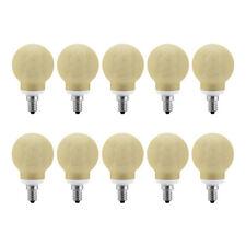 10 X Paulmann Lampe à économie d'énergie Globe G60 7W E14