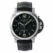 Panerai Luminor 1950 3Days GMT PAM00535 Men Automatic Black Dial Watch 42mm