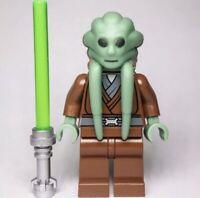 Lego Star Wars Kit Fisto Minifigure & Lightsaber Accessory Set SW422 *RARE*