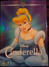 Walt Disney Cinderella Dvd With O Ring Sleeve Cover