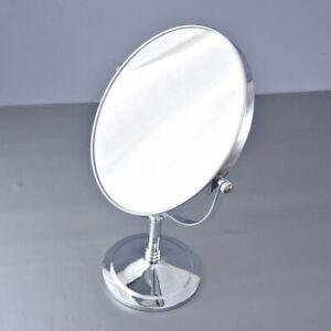Bathroom Accessories Polished Chrome Brass Beauty Makeup Round Mirror 2ba639