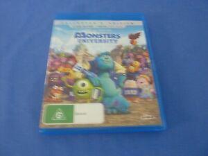 Monsters University Blu-Ray Disney Pixar