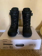 Ride Lasso Boots 2021 Black, Mens US size 9.5, New, never used!