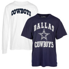 NFL Dallas Cowboys Men's Navy/White Beacon 3-in-1 Combo Set T-Shirt, X-Large