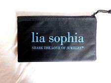 Black Small Beauty Make Up Bag-Cosmetic Case-Jewelry Bag - Lia Sophia