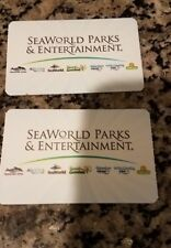 Two (2) SeaWorld Orlando Adult or Child Tickets Expires 6/18/2019