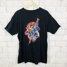 Harley Davidson Mens Sz XL Black Graphic Tee Dont Tread On Me Shirt Daytona 2002