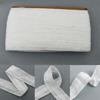 30mx3cm  White Curtain Heading Header Tape Pencil Pleat Liner Sew Home Decor Sup