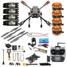 Full Set DIY 2.4GHz 4-Aixs Quadcopter RC Drone 630mm Frame Kit MINI PIX+GPS AT9S