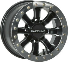 Raceline A7148037-44 Mamba Beadlock Wheel 14x8 Bolt 4x137 4+4 Machined w/Black