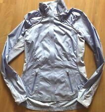 LULULEMON Run Essential Lightweight Vented Jacket Lilac size 4 Reflective EUC