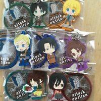 Attack on Titan - Rubber Strap with Stand Eren Levi Hans Mikasa Armin Sasha