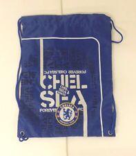 Chelsea FC Gym Sack/Cinch Bag Color Blue Official Licensed Product NWOT