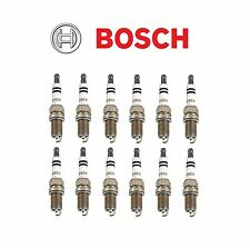 Set Of 12 Mercedes W163 W208 W210 W211 W220 Spark Plugs BOSCH Platinum Plus