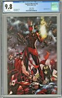 Captain Marvel #12 CGC 9.8 Mark Brooks Virgin Edition Variant Cover Dark Star