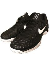 Nike Zoom Cage 3 Tennis Shoes 918193-010 Men's US 10 Black White