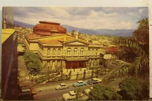 Costa Rica San Jose National Theater Postcard Old Vintage Card View Standard PC