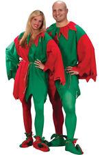 Brand New Christmas Elf Tunic Santa Helper Adult Halloween Costume