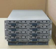 Cisco UCS-5108 2x UCS-IOM-2208XP Modules 4x PSU 8x UCS-B200-M3 CTO Blade Servers