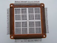 USSR Magnetic Ferrite Core Memory Plate BP-20 RAM Block 4096 bit 1983 Manual