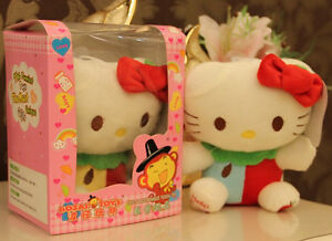 Hello Kitty 18cm Recording doll Cute Characters plush Christmas Gift Type A