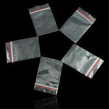 Piccolo Trasparente Plastica Borse Baggy Impugnatura Richiudibile Zip Blocco B3