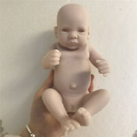 10'' Unpainted Reborn Baby Doll Handmade Silicone Mold Blank Newborn Girl Kit