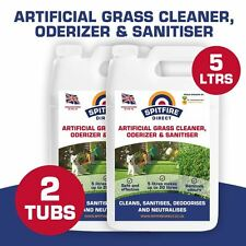 2 x 5 Litres Spifiredirect  Artificial Grass Cleaner Disinfectant + Deodoriser